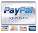 We accept Paypal and major cards